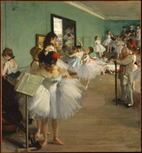 The Dance Class, 1874 Oil on canvas 83.5 x 77.2 cm by Edgar Degas