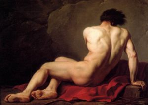 Patroclus, study, 1780 by Jacques-Louis David