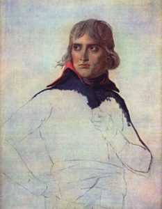 Unfinished portrait of General Bonaparte, 1799 Oil on canvas 81 × 65 cm by Jacques-Louis David (1748-1845)