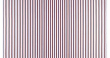 Chant 2, 1967 Emulsion on canvas 231.5 x 231 cm by Bridget Riley (b.1931)