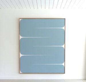 Mare, 2020 Acrylic on canvas 73.5 x 61.5 inches by Sara Genn