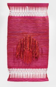 Palghat Tapestry, 1966 Cotton 68.5 H x 36 inches by Sheila Hicks