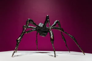 Spider III, 1995 Bronze 19 x 33 x 33 inches by Louise Bourgeoise