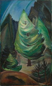 A Little Pine, 1931 Oil on canvas by Emily Carr