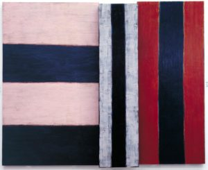Paul, 1984 Oil on canvas 259 × 320 cm by Sean Scully