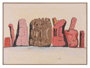 Untitled, 1971 Oil on canvas by Philip Guston