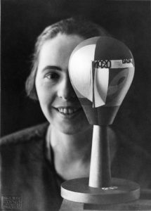 Sophie Taeuber-Arp, with Dada-Head, 1920