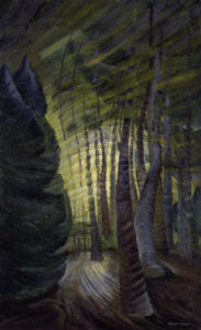 Sombreness Sunlit, 1939-1940 oil on canvas by Emily Carr