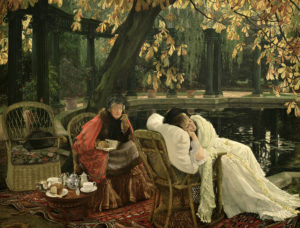 A Convalescent, c. 1876 Oil on canvas by Jacques Tissot