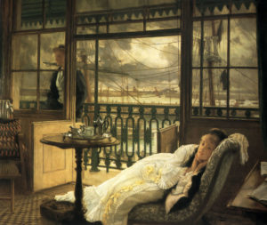 A Passing Storm, 1876 Oil on canvas by Jacques Tissot