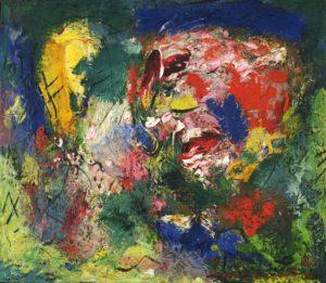 Flowering Desert 1953 Oil on canvas 23 3/4 x 27 inches by Hans Hofmann