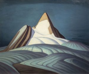 Isolation Peak, Rocky Mountains, 1930 Oil on canvas 42 × 50 inches by Lawren Harris