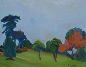 Kate Sessions Park Vista by Caroline Morse