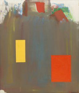 Memoria in Aeternum 1962 Oil on canvas 7 x 6 1/8 feet by Hans Hofmann