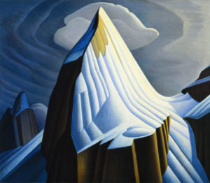 Mt. Lefroy, 1930 Oil on canvas 52.5 x 60.4 inches by Lawren Harris