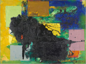 The Vanquished, 1959 48¼ x 36¼ inches Oil and Enamel on Canvas by Hans Hofmann