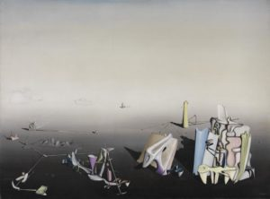 Azure Day, 1937 Oil on canvas 630 × 812 mm Yves Tanguy 1900-1955
