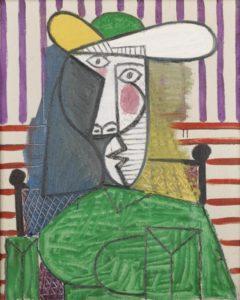 Buste de femme Oil on canvas 81 × 65 cm by Pablo Picasso (1881-1973)