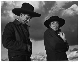 Georgia O'Keeffe and Orville Cox, Canyon de Chelly National Monument, Arizona, 1937 Gelatin silver print by Ansel Adams