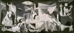 Guernica, 1937 Oil on canvas 3.49 x 7.77 m by Pablo Picasso