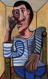 Le Marin, 1943–1943 Oil on Canvas 129.3 x 80.7 cm
