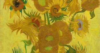 1Sunflowers, 1889  Oil on canvas 95 x 73 cm by Vincent van Gogh (1853-1890)