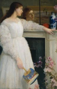 Symphony in White No. 2, 1864 Oil on canvas 30.1 x 20.1 inches by James McNeill Whistler