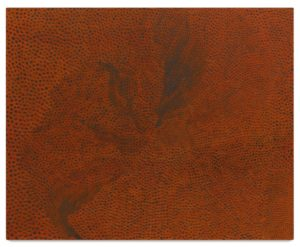 Lake Michigan, 1960 Oil on canvas 25.5 x 31.5 inches by Yayoi Kusama