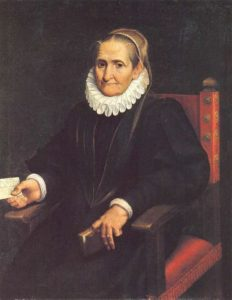 Self-Portrait, 1610 Oil on canvas by Sofonisba Anguissola