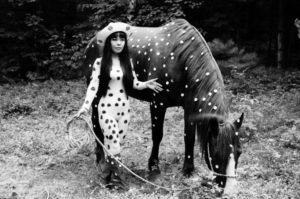 Horse Play, Woodstock, 1967 Photograph by Yayoi Kusama