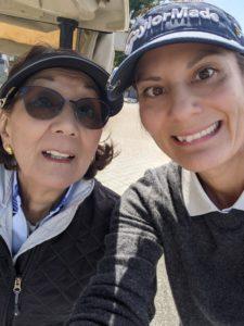 Carol and Sara, May, 2021