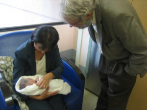 Vancouver, 2008 Carol and Bob welcome Baby Zoë Francis Noriko Genn