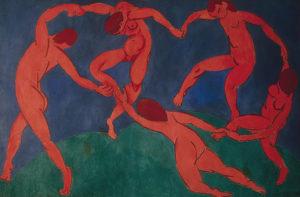 La danse (second version), 1909-1910 Oil on canvas, 260 x 391 cm by Henri Matisse