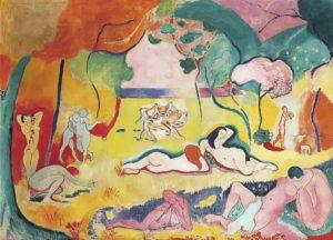 Le Bonheur de Vivre, 1905-1906 Oil on canvas 176.5 x 240.7 cm by Henri Matisse