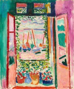 Open Window, Collioure, 1905 Oil on canvas 55.3 x 46 cm by Henri Matisse