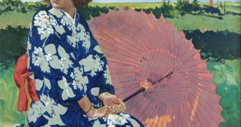 Sara on the Far Shore, 1988 Acrylic on canvas 24 x 30 inches by Robert Genn