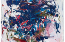 Rock Bottom, 1960 Oil on canvas 78 x 68 inches by Joan Mitchell (1925 - 1992)