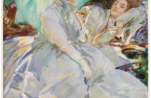 Simpl;on Pass, Reading, c. 1911. Watercolor, with wax resist, over graphite on paper 20 1/16 x 14 1/16 inches by John Singer Sargent (1856–1925)